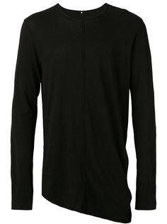panelled sweater Ziggy Chen