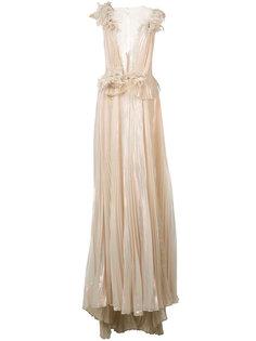 платье-макси Marchesa