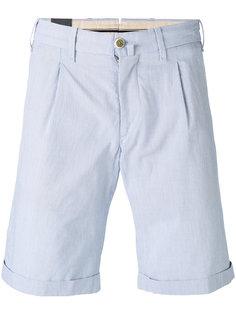 шорты с манжетами и складками  Lardini