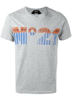 футболка с заклепками  Nº21