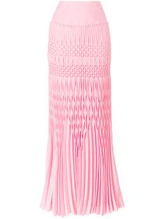 длинная юбка с фактурной отделкой Haider Ackermann