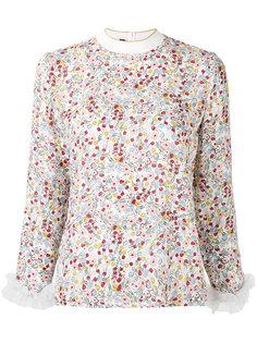 блузка с цветочным принтом  Mother Of Pearl