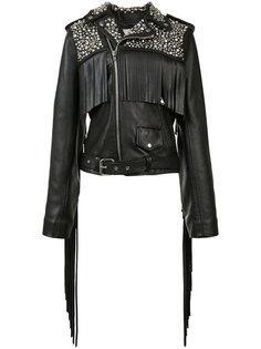 байкерская куртка с заклепками Rodarte
