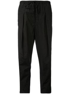 поплиновые брюки  Andrea Yaaqov