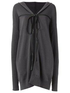 tie fastening cardigan Uma | Raquel Davidowicz