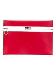 клатч из искусственной кожи Mm6 Maison Margiela
