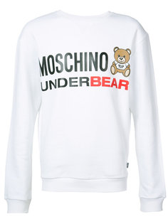 underbear sweatshirt Moschino