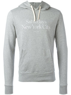 Ditch Miller Standard Hooded Sweatshirt Saturdays Nyc