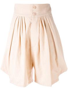 шорты со сборками Chloé