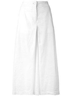 длинные юбка-шорты со складками  Andrea Yaaqov