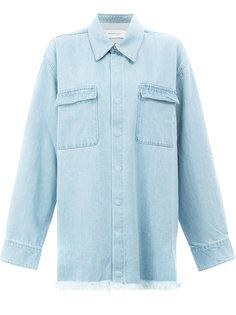 джинсовая рубашка  Marquesalmeida