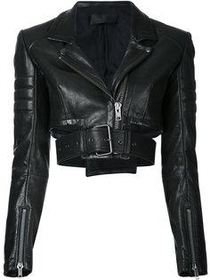 укороченная байкерская куртка Miza Haider Ackermann