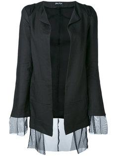 полупрозрачный многослойный пиджак  Andrea Yaaqov