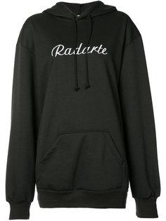 logo hoodie Rodarte