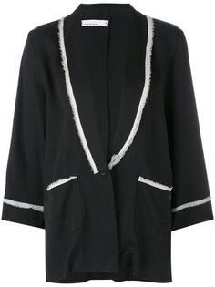 жакет в пижамном стиле Nostra Santissima