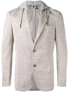 пиджак с капюшоном Eleventy