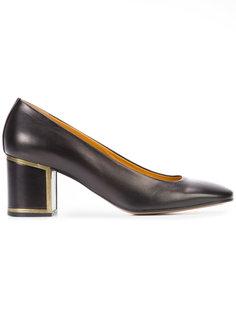 low block heel pumps Veronique Branquinho
