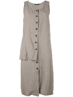 платье асимметричного кроя Rundholz