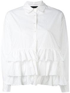 рубашка с оборками Erika Cavallini