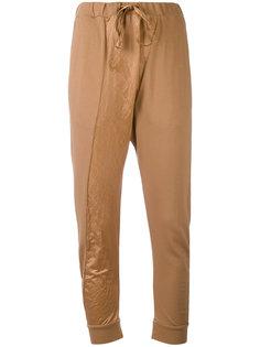 спортивные брюки с заниженным шаговым швом  Andrea Yaaqov