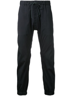 укороченные спортивные брюки на шнурке  Kazuyuki Kumagai