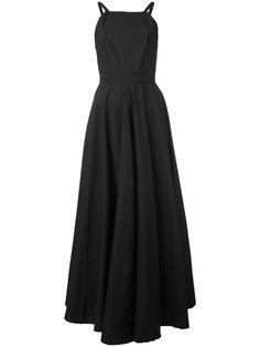 платье с открытой спиной  Andrea Yaaqov