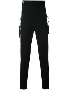 джинсы с металлической отделкой D.Gnak