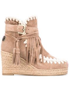 ботинки на танкетке Eskimo Mou