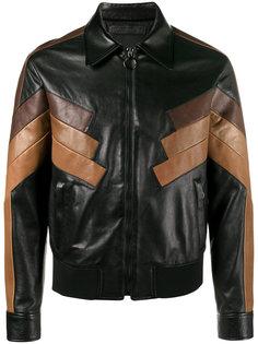 кожаная куртка в стиле ретро  Neil Barrett