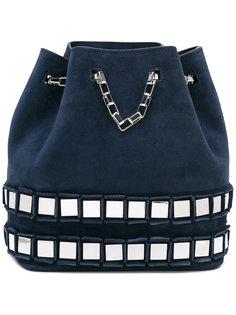 embellished bucket tote  Tomasini