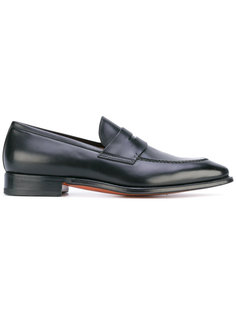 classic loafers Santoni