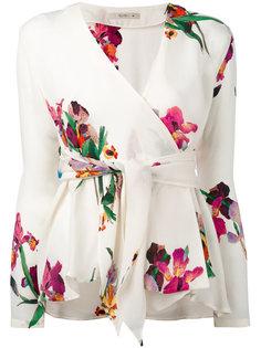 блузка с цветочным рисунком Etro