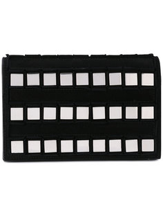 square studded clutch Tomasini