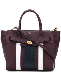 stripe panel shoulder bag  Mulberry