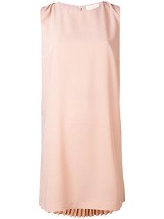 платье шифт с плиссировкой  Sara Battaglia