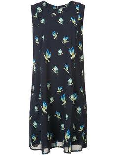 платье с принтом птиц Grey Jason Wu
