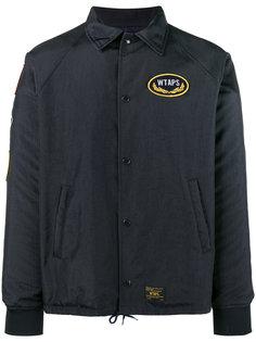 куртка с вышивкой  Wtaps (W)Taps
