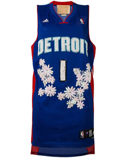 Detroit embroidered NBA tank Night Market