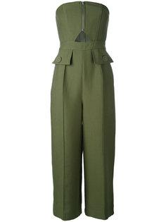 strapless jumpsuit  C/Meo