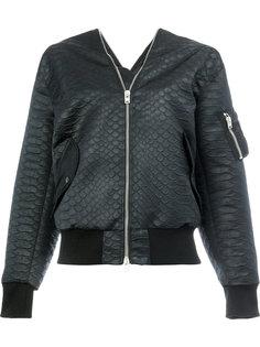 куртка-бомбер на молнии  Yang Li