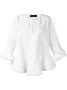 frayed blouse  Rossella Jardini