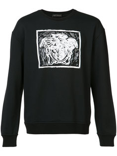 contrast Medusa print sweatshirt Versace