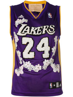 Lakers embroidered NBA tank Night Market