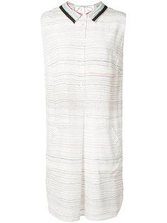 платье-рубашка без рукавов Grey Jason Wu
