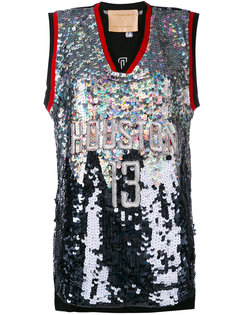 Huston embroidered NBA tank Night Market