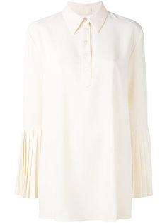 рубашка с плиссированными манжетами  Sara Battaglia
