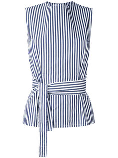 belted stripe top Federica Tosi