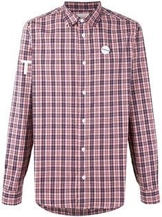 printed checked shirt  Sold Out Frvr