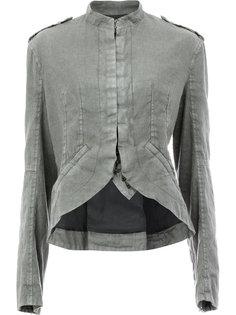 куртка с закругленным краем  Haider Ackermann