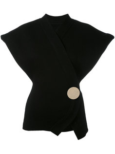 sleeveless wrap cardigan  Jacquemus